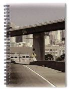 Heading Into The Busy Part Of San Francisco Spiral Notebook