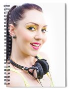 Headphones Spiral Notebook