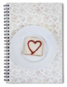 Hearty Toast Spiral Notebook
