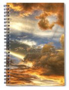 Heavenly Skies  Spiral Notebook