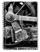 Heavy Steel Spiral Notebook