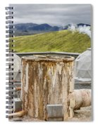 Hellisheidi Power Station Well Spiral Notebook
