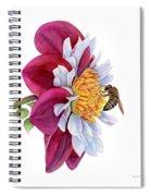 Hello My Flower Spiral Notebook