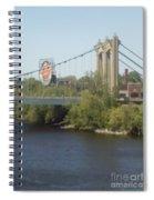 Hennepin Bridge Spiral Notebook