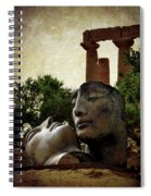'hermanos' In The Valley Of The Temples Spiral Notebook