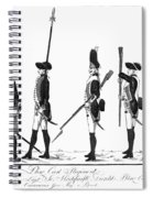 Hessian Soldiers Spiral Notebook