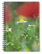 Hidden Flower Spiral Notebook