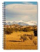 High Desert Plains Landscape Spiral Notebook