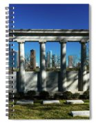 High Rise Buildings In Houston Spiral Notebook