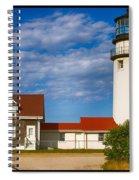 Highland Lighthouse Spiral Notebook