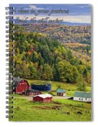 Hillside Acres Farm Spiral Notebook