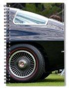Classic Corvette Spiral Notebook