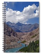 Himalayan Scenery... Spiral Notebook