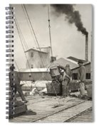 Hine Oyster Fishing, 1911 Spiral Notebook
