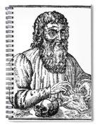Hippocrates (c460-c377 B.c.) Spiral Notebook