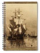 Historic Seaport Schooner Spiral Notebook