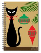 Holiday Cat Spiral Notebook