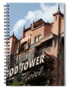 Hollywood Tower Spiral Notebook
