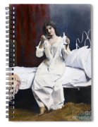 Home Medicine, 1901 Spiral Notebook