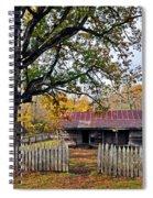 Homestead On The Buffalo Spiral Notebook