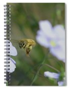Honeybee At Work  Spiral Notebook