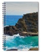 Honolulu Hi 11 Spiral Notebook