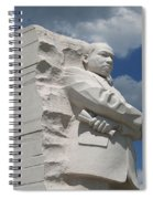 Honoring Martin Luther King Spiral Notebook