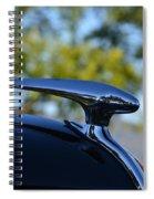 Hood Ornement  Spiral Notebook