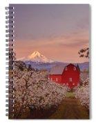 Hood River Sunrise Spiral Notebook
