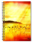 Hope On A Wing And A Prayer Spiral Notebook
