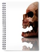 Horror Head Spiral Notebook