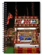Hot Dog On A Stick Spiral Notebook