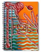 Turning Up The Heat Spiral Notebook