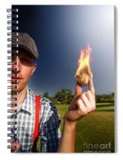 Hot Sport Spiral Notebook