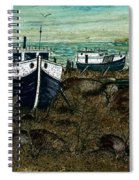 House Boats Spiral Notebook