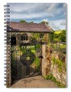 House Of God Spiral Notebook