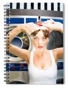 House Work Woman Spiral Notebook