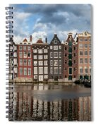 Houses In Amsterdam Spiral Notebook