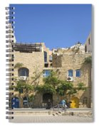 Houses In Jaffa Tel Aviv Israel Spiral Notebook