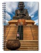 Huay Mongkol Temple Spiral Notebook