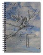 Human Flight  Spiral Notebook