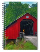 Hune Covered Bridge Spiral Notebook