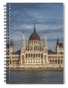 Hungarian Parliament Building Afternoon Spiral Notebook