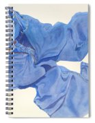 Watercolor   I Love My Jeans  Spiral Notebook