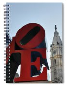 I Love Philadelphia Spiral Notebook