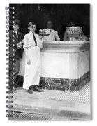 Ice Cream Parlor Spiral Notebook