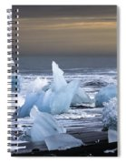 Ice In The Sea Spiral Notebook
