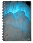 Ice Rising Spiral Notebook