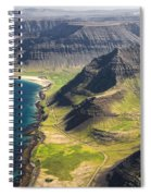 Iceland Plateau Mountains Spiral Notebook