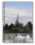 Idaho Falls Temple Spiral Notebook